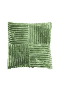 Fylld prydnadskudde Baloo i bredspårig mjuk manchester, grön