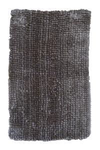 Avlång badrumsmatta i mjuk chenille med härlig lyster