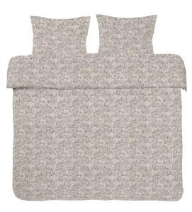 Bäddset Gina, percalekvalitet, färg grå
