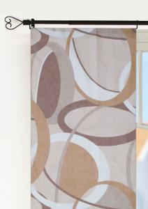 Panellängd Halo, uppseendeväckande ovaler, beige