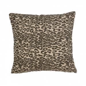 Kuddfodral JEPPE LIN, gepard, svart