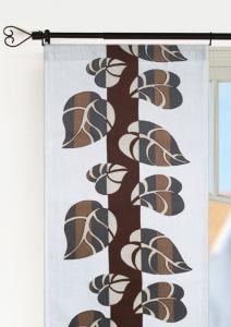 Panellängd Löv, 2-pack. Träd med löv, ett mönster i nostalgins tecken, brun