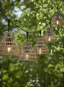 Ljusslinga SARAH Flex Out, E27, 5st lampskärmar