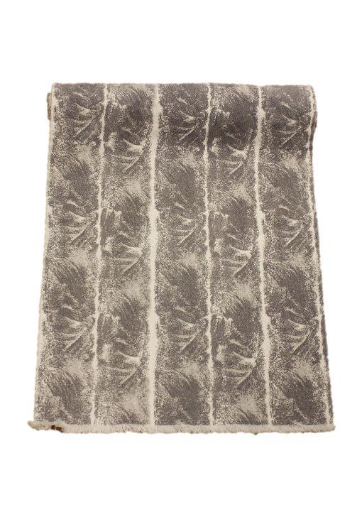 Bordslöpare Port, snyggt tufft mönster, grå