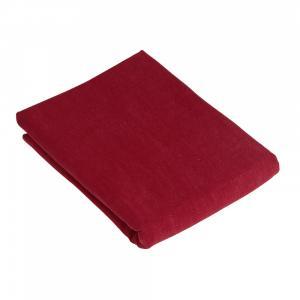 Duk RAMI, enfärgad röd