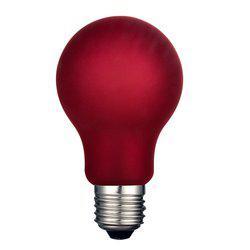 Lampa INTERIOR LED, E27, Normal matt, röd