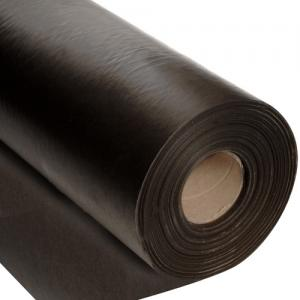 Vaxat papper, 5 m, bredd 75cm i svart