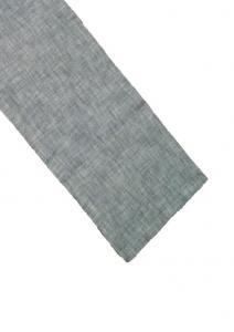 Bordslöpare Visby, enzymtvättad bomull, grå