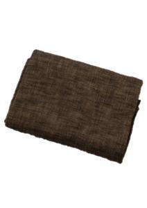 Bordduk Visby, enfärgad enzymtvättad bommul, svart