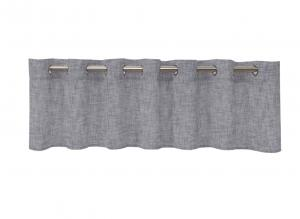 Öljettkappa Wayne, färdigsydd skir och vacker kappa med struktur, mellangrå