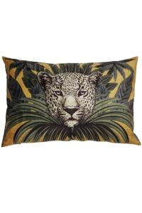 Kuddfodral Wild, leopard, guld