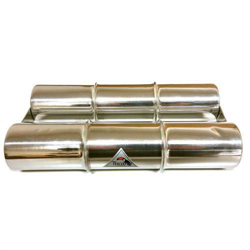 PJ Ganza Steel 24 cm Double