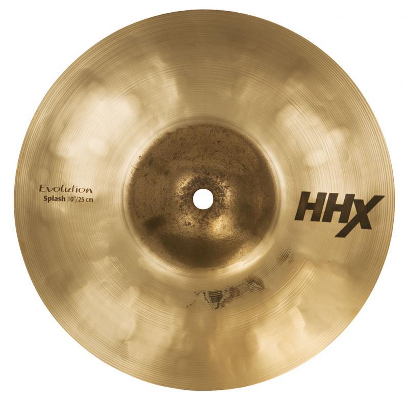 "10"" HHX Evolution Splash Brilliant Finish, Sabian"