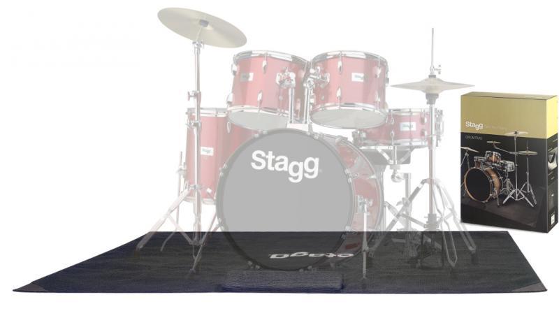 Stagg Trummatta m. Väska