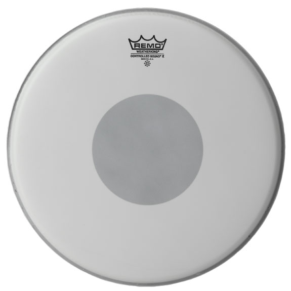 "14"" coated Controlled sound X, Remo"