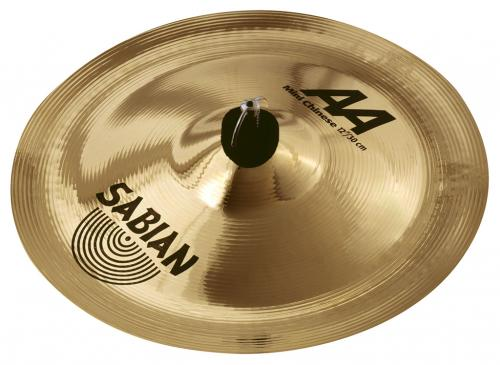 "12"" AA Mini Chinese Brilliant Finish, Sabian"