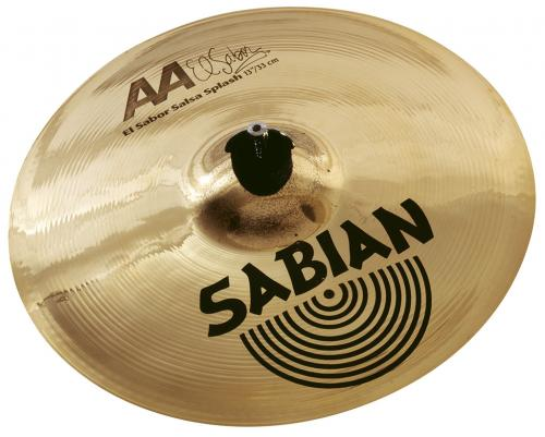 "13"" AA El Sabor Salsa Splash Brilliant Finish, Sabian"
