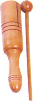 Mano Percussion MP-STB Tone Block w/ handle