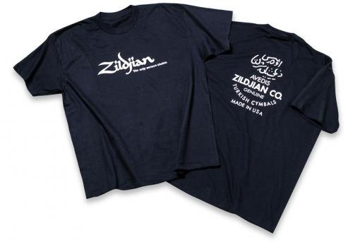 Zildjian T3002 Black Classic T-shirt - Medium