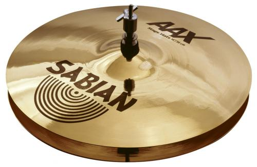 "14"" AAX Stage Hats Brilliant Finish, Sabian"