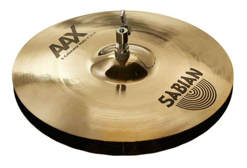 "14"" AAX X-Celerator Hats Brilliant Finish, Sabian"