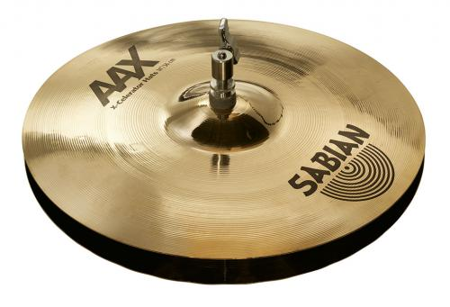"14"" AAX X-Celerator Hats Brilliant Finish, Sabian"