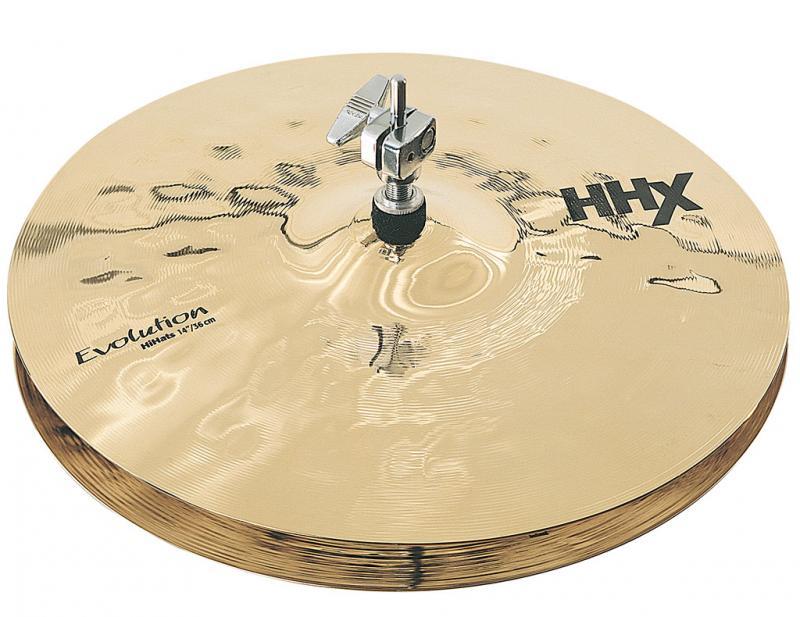"14"" HHX Evolution Hi-Hats Brilliant Finish, Sabian"