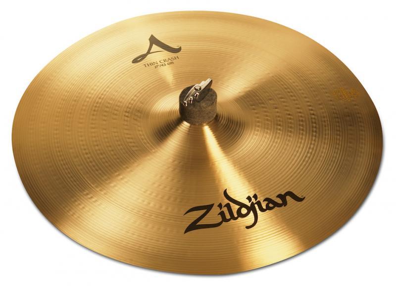 "Zildjian 17"" A Thin Crash"