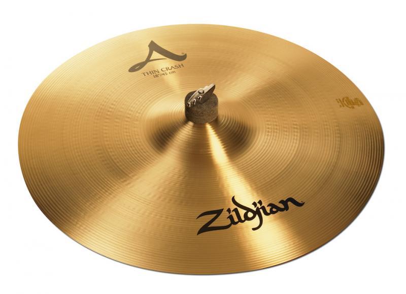 "Zildjian 18"" A Thin Crash"