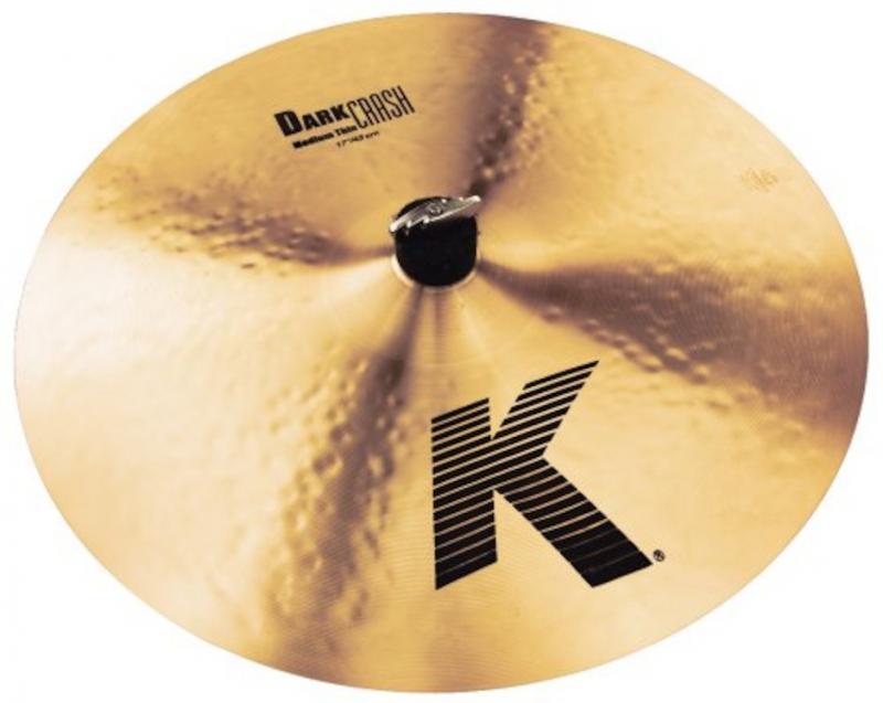 """Zildjian 17"""" K Dark Crash Medium Thin"""