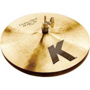 """Zildjian 13"""" K Custom Dark Hihat"""