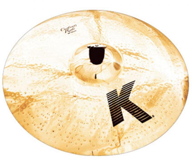 "Zildjian 20"" K Custom Brilliant Ride"