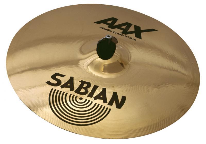 "15"" AAX Studio Crash Brilliant Finish, Sabian"