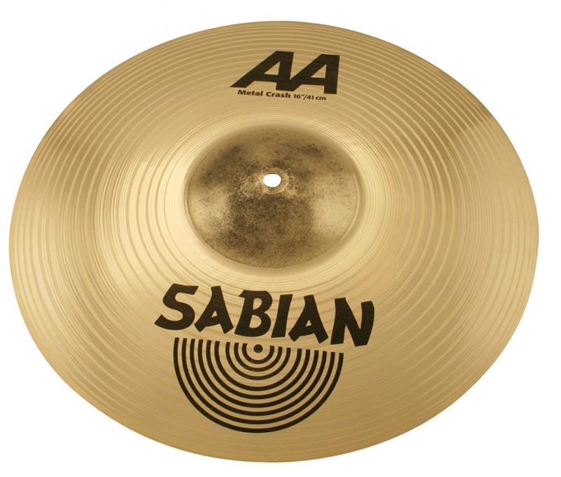 """16"""" AA Metal Crash , Sabian"""