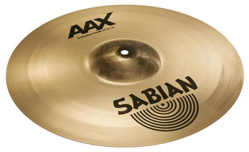"16"" AAX X-Plosion Crash Brilliant Finish, Sabian"