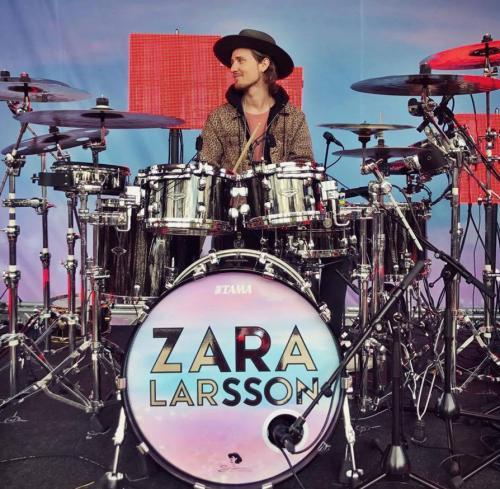 Bastrumtryck till Zara Larsson