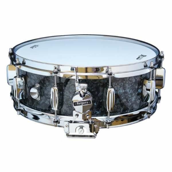 Rogers DynaSonic 14×5 Wood Shell Snare | B&B Lug – Black Diamond Pearl