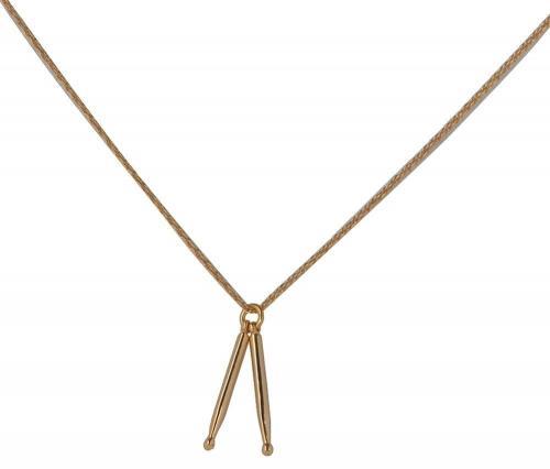 Halssmycke trumstockar, guldfärgad