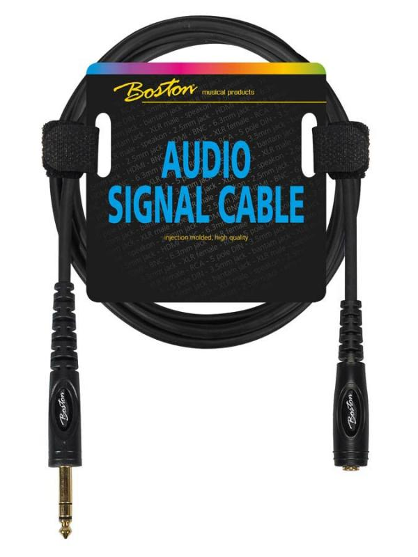 Förlängningskabel stereo 1,5m, Boston