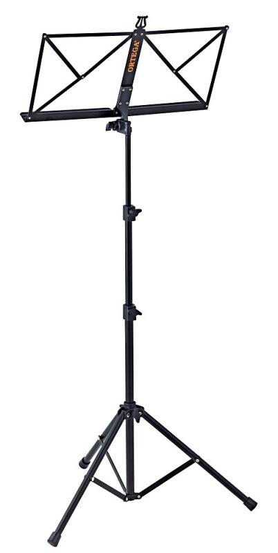 Portable Music Stand, Black, OMS-1BK