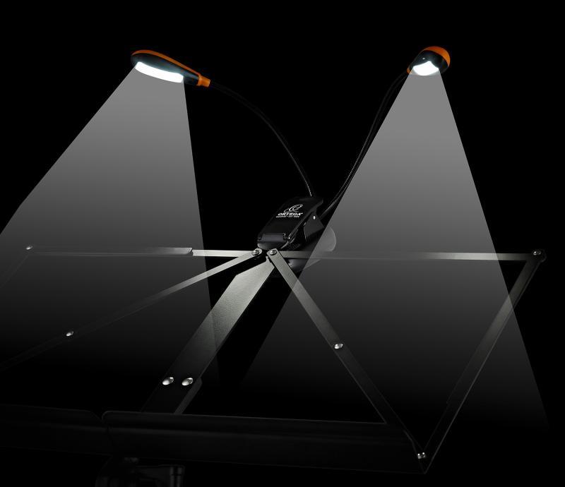 LED Music Light, Double neck
