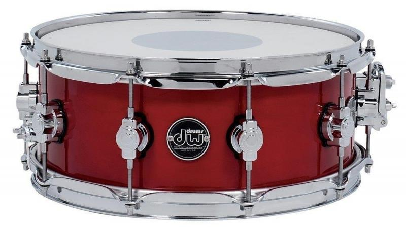 Drum Workshop Snare Drum Performance Lacquer Cherry Stain