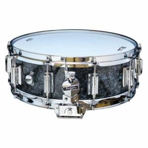Rogers DynaSonic 14×5 Wood Shell Snare | Beavertail Lug – Black Diamond Pearl
