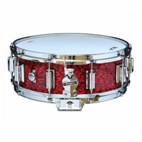 Rogers DynaSonic 14×5 Wood Shell Snare | Beavertail Lug – Red Onyx