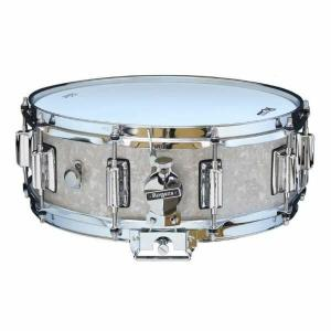 Rogers DynaSonic 14×5 Wood Shell Snare | Beavertail Lug – White Marine Pearl