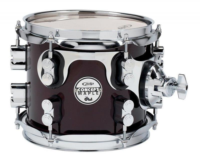 PDP by DW Tom Tom Concept Maple Ebony Stain