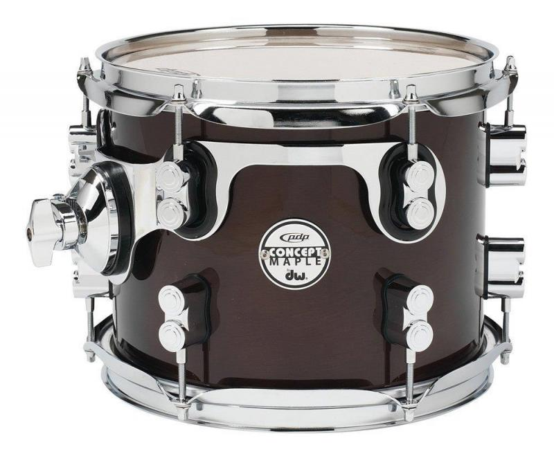 PDP by DW Tom Tom Concept Maple Satin Charcoal Burst
