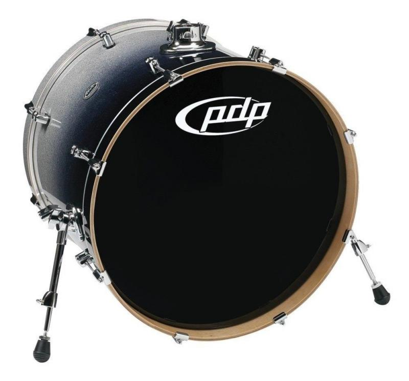 PDP by DW Bass Drum Concept Maple Ebony Stain