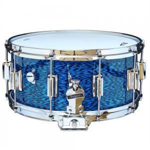 Rogers DynaSonic 14×6.5 Wood Shell Snare  Beavertail Lug – Blue Onyx