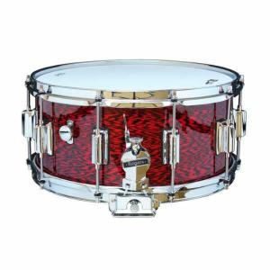 Rogers DynaSonic 14×6.5 Wood Shell Snare | Beavertail Lug – Red Onyx